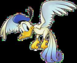 Donald (Bird Form) (Art)