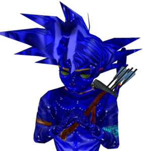 Goku Anyskin Hair 1-1