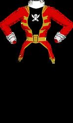 Gokai Red Suit F