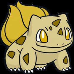 001 Bulbasaur DW Gold