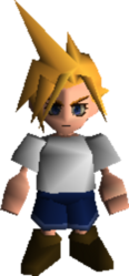 Cloud Strife Young FFVII