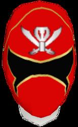 Gokai Red Helmet F