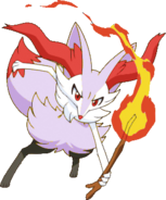 Shiny Braixen XY4
