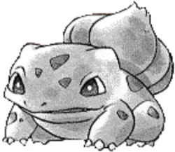 001 Bulbasaur RG2 Silver