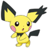 172 Pichu Spiky-Ear DP4