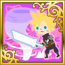 Cloud Strife Finishing Touch SR