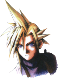 Cloud Strife Portrait Young FFVII