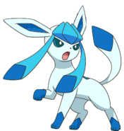 Shiny Glaceon BW
