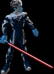 Blue Superman Saber Red