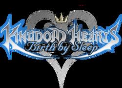 Kingdom Hearts Birth by Sleep Title