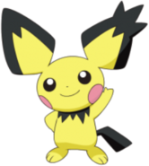 172 Pichu Spiky-Ear DP2