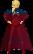 Supergirl RedBlu Pregosuit 5