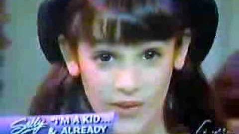 Young Lea Michele singing Castle On A Cloud-0