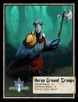 Heron Ground Troops