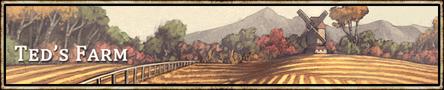 Location banner Teds Farm