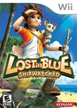 Lost in Blue - Shipwrecked Coverart