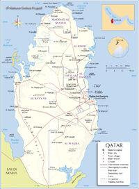 Qatar-map