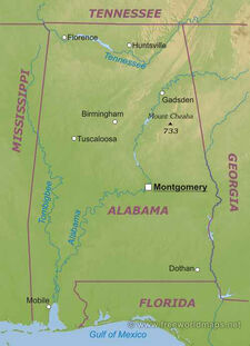 Alabama-map