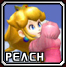 File:SSBMIconPeach.png
