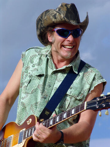 File:Ted Nugent in concert.jpg