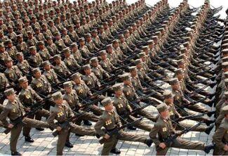 North korean military