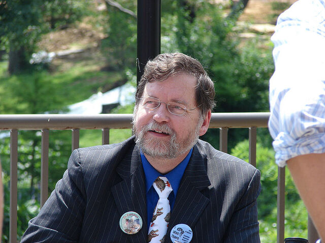 File:P Z Myers with crocoduck tie.jpg