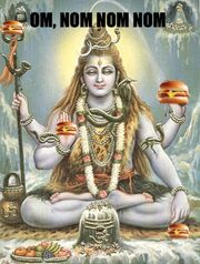Shiva cheezburger