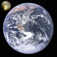 Pluto-earth