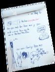 Max's scribbles