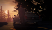 Episode 2 cutscene license plate