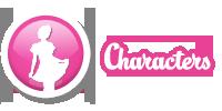 Characters slider