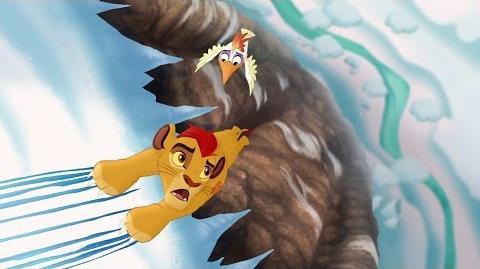Hafifu and Majinuni save Kion!