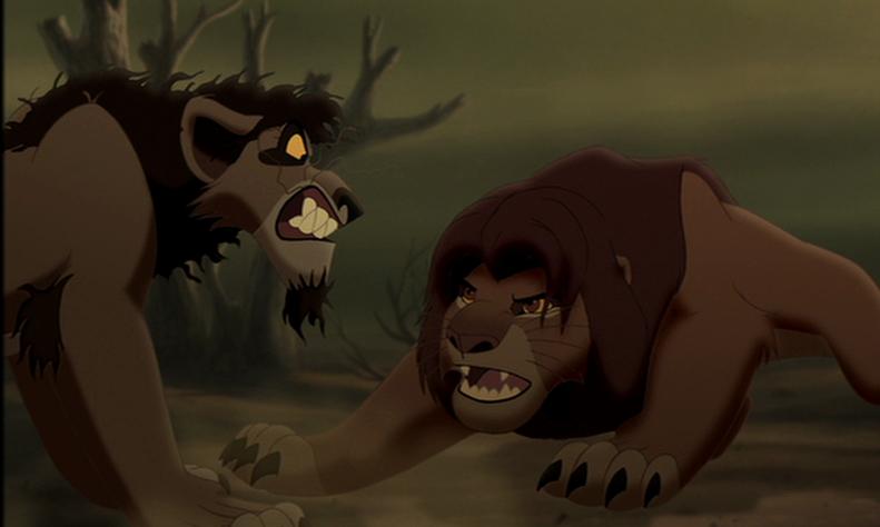 Nuka confronts Simba