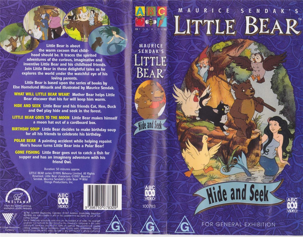Hide and seek vhs little bear wiki fandom powered by for Cat goes fishing wiki