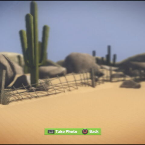 The background of The Canyons in LittleBigPlanet Karting