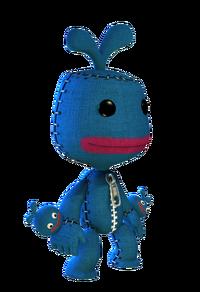 Blue Roco Costume
