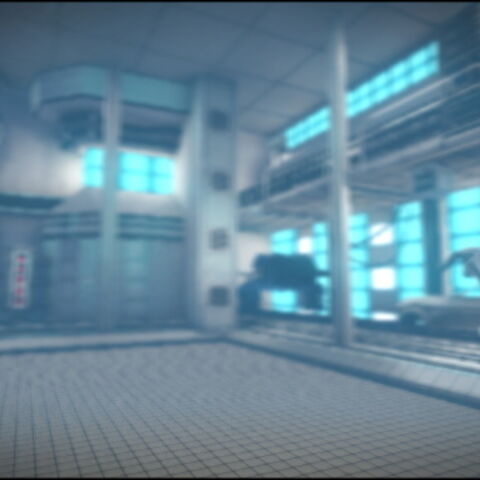 The background of Avalonia in LittleBigPlanet Karting