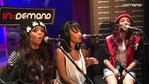 Little Mix 'Wings' in session at In Demand