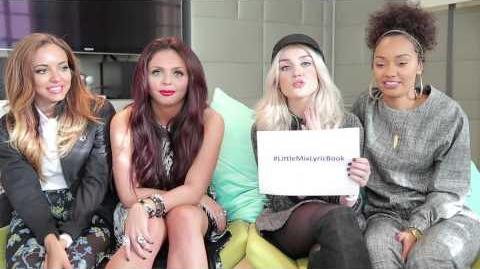 Mixers Salute Mission 12 Little Mix Lyric Book