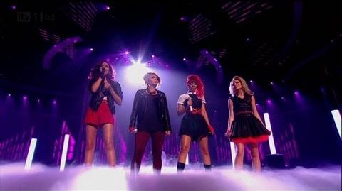 Little Mix do a Beyonce - The X Factor 2011 Live Semi-Final - itv