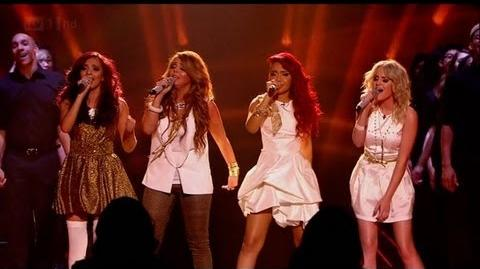 Little Mix sing Cannonball - The X Factor 2011 Live Final - itv