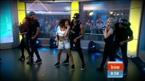 Little Mix perform 'Move' LIVE