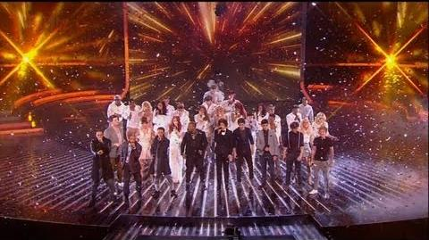 Whoop! It's the X Factor charity single - The X Factor 2011 Live Results Show 8 - itv