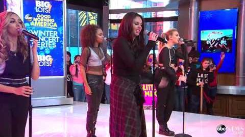 Little Mix - Little Me - Good Morning America (02 04 2014)
