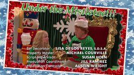 Liv and Artie Christmas Photos Joy To-A-Rooney 5
