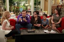 Liv explaining to her family2