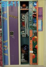 Maddie's locker