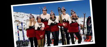 Frame-A-Rooney; Team Rooney Ski Patrol