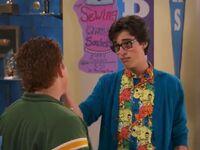 Joey talking
