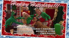 Liv and Artie Christmas Photos Joy To-A-Rooney 3